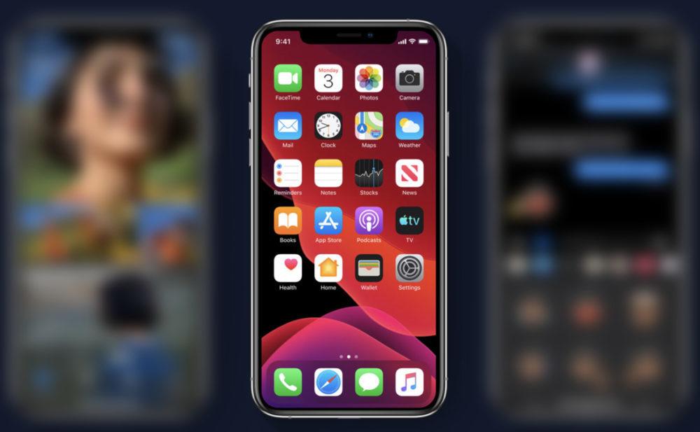 iOS 13 wallpaper 1000x617 Le taux dadoption diOS 13 est de 20%, une semaine après sa sortie