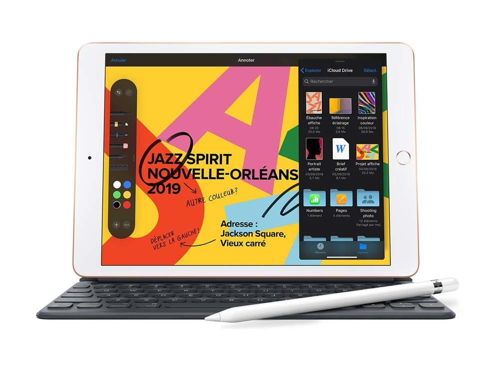 iPad 2019 1000x733 LiPad 7e génération reconditionné est désormais à lachat en France