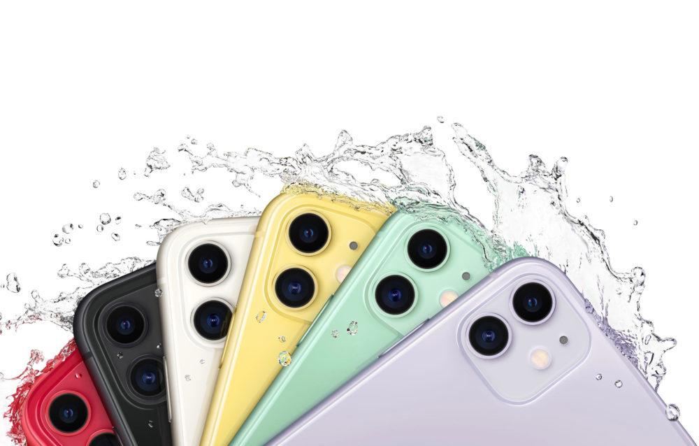 iPhone 11 Eau 1000x638 LiPhone 11 est le 2e smartphone le plus acheté en France, le 1er est le Galaxy A51