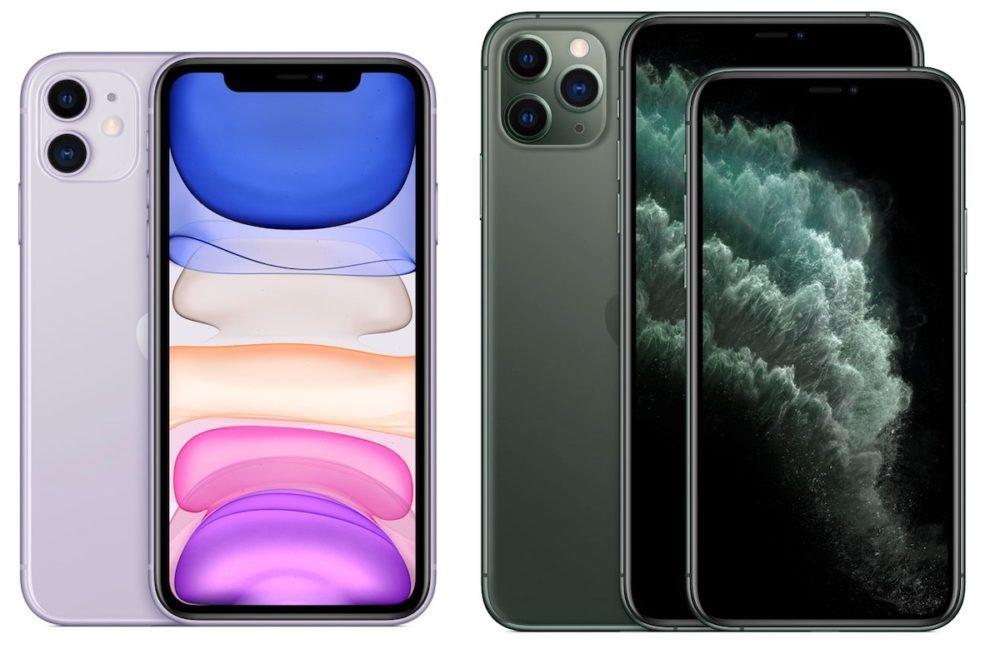 iPhone 11 iPhone 11 Pro Max 1000x649 Apple dévoile les prix officiels en euro des iPhone 11, 11 Pro et 11 Pro Max