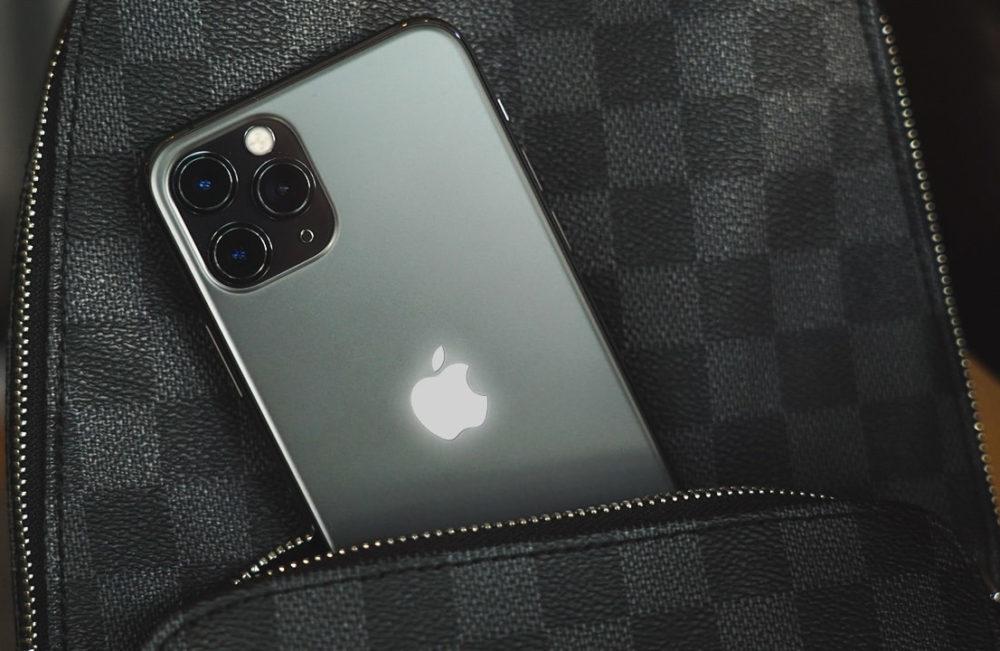 iPhone Logo Apple Allume 1000x651 Le logo Apple au dos des futurs iPhone pourrait sallumer pour les notifications