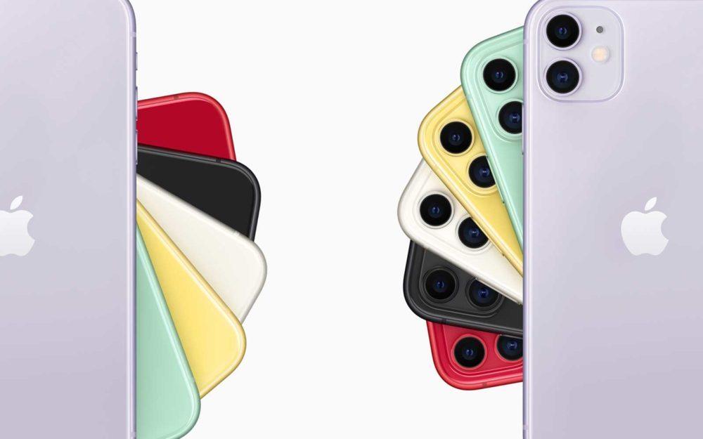 iphone 11 coloris 1000x625 iPhone 11 et 11 Pro : une demande supérieure aux attentes et les nouvelles couleurs attirent les utilisateurs