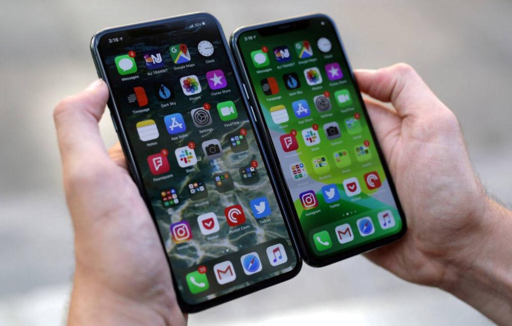 iphone 11 pro max ecran 1000x638 iPhone de 2020 : ils seraient équipés dun écran OLED ProMotion de 120 Hz