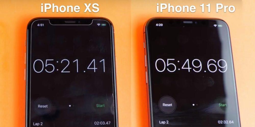 iphone 11 pro speed test 1000x500 L'iPhone 11 Pro vs l'iPhone Xs, qui est le plus rapide ?