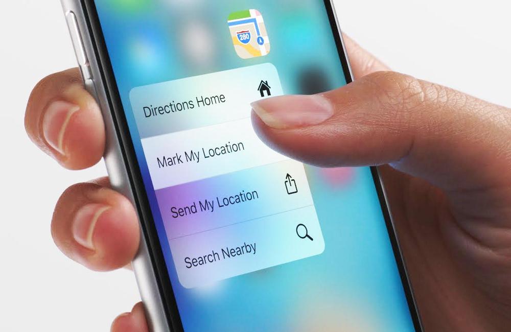 iphone 3D touch haptic touch iPhone 11, 11 Pro et 11 Pro Max : disparition du 3D Touch au profit dHaptic Touch