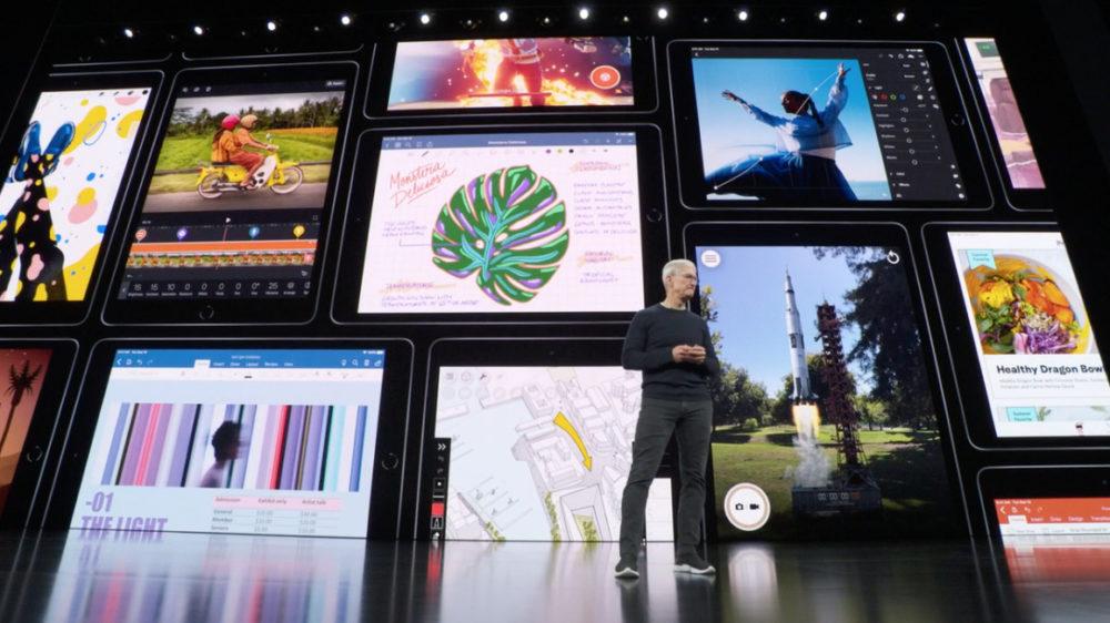nouvel ipad 7 generation Keynote septembre 2019 : iPad 7ème génération, nouvel écran 10,2 pouces