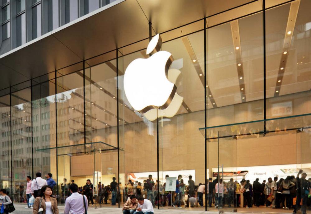 Apple Store 1000x688 Apple a publié ses résultats financiers pour le Q4 2019 : encore une baisse pour liPhone