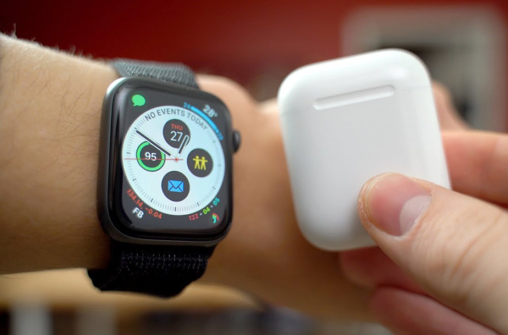 Apple Watch Gris Sideral AirPods 1000x659 Les ventes dAirPods et dApple Watch ont été très bonnes en Europe pour le 2e trimestre de 2019