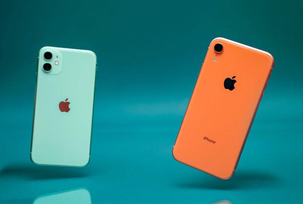 iPhone XR vs 11 Apple 1000x674 iPhone de remplacement : un manque dans les Apple Store