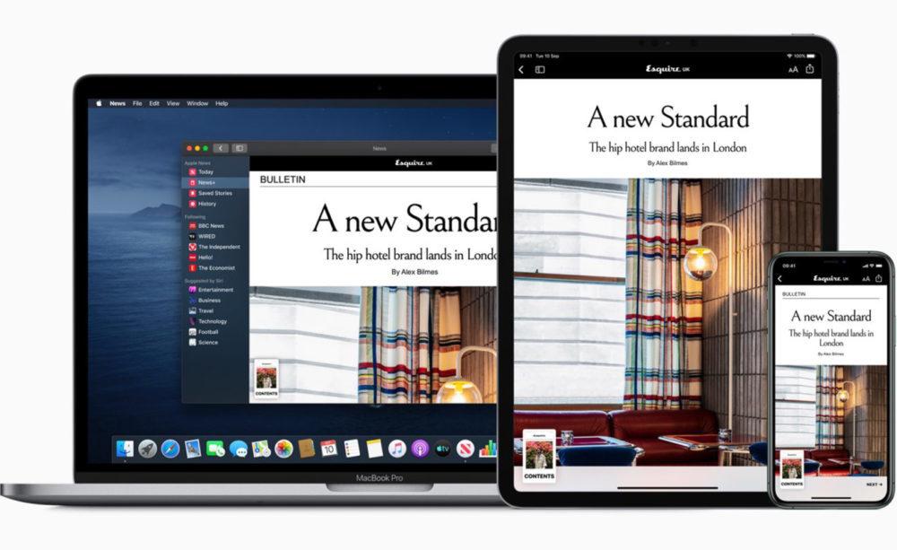 mac iphone xs ipad pro apple news plus 1000x613 Apple News+ est disponible au Royaume Uni et en Australie