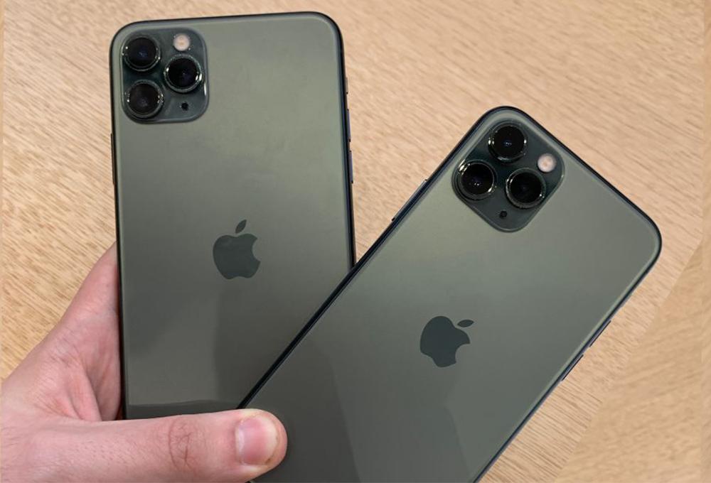 2 Apple iPhone 11 Pro Environ 20% des iPhone qui seront distribués au second semestre 2020 seraient compatibles 5G