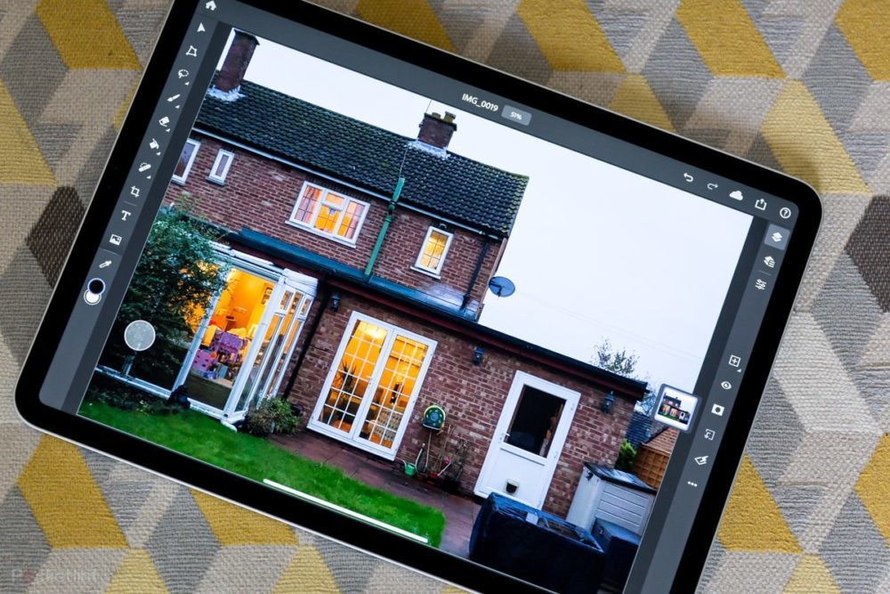 Adobe Photoshop Apple iPad Pro 1000x667 Lapplication Adobe Photoshop est désormais disponible sur iPad