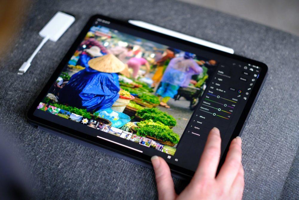 Adobe Photoshop iPad Pro 1000x667 Photoshop sur iPad : les nouveautés suivront les mauvaises critiques