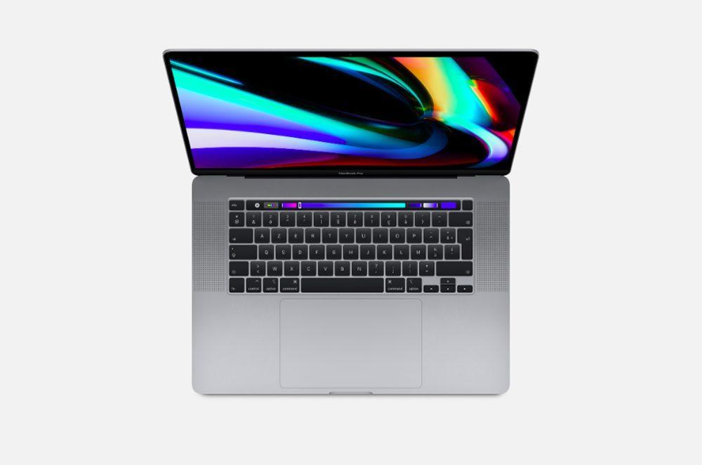 Apple MacBook Pro 16 Pouces 1000x662 Apple annonce le MacBook Pro 16 pouces : 6 haut parleurs, processeur 8 coeurs, 11h dautonomie