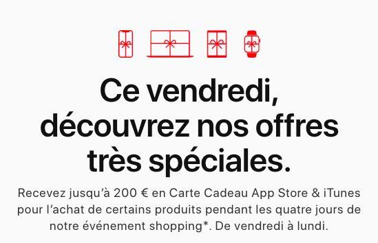 Black Friday Apple 2019 Voici loffre dApple en France pour le Black Friday 2019
