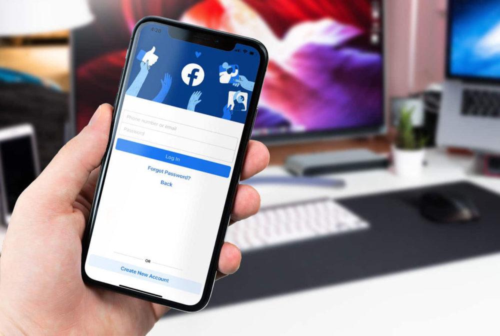 Facebook iPhone X 1000x672 Facebook ajoute de nouveau les appels audio et vidéo dans son appli