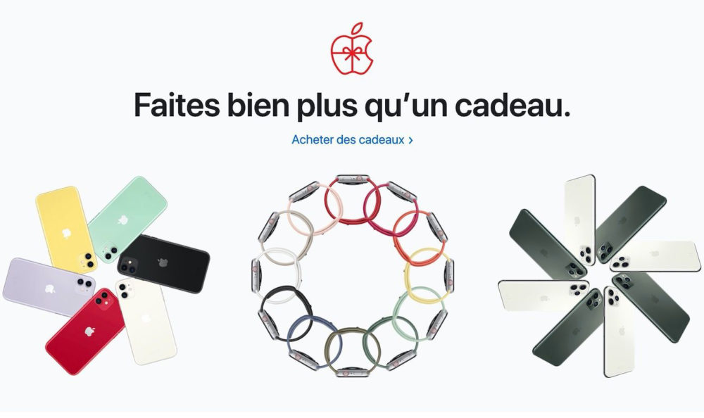 Idees Cadeaux Noel Apple 2019 Voici loffre dApple en France pour le Black Friday 2019
