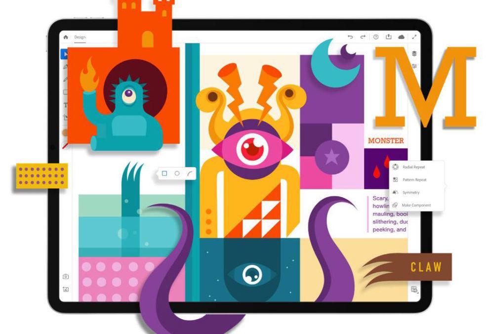 Illustrator Sur iPad 1000x676 Lapplication Adobe Illustrator arrive sur iPad en 2020