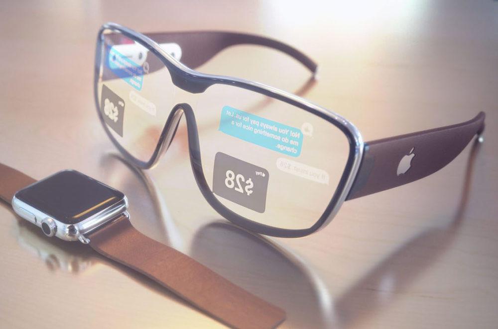 Lunettes Apple 3D 1000x662 Les iPhone et les iPad de 2020 auraient un capteur 3D, casque et lunettes AR pour 2022