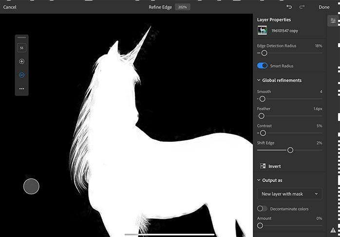 Refine Edge Photoshop Photoshop sur iPad : les nouveautés suivront les mauvaises critiques