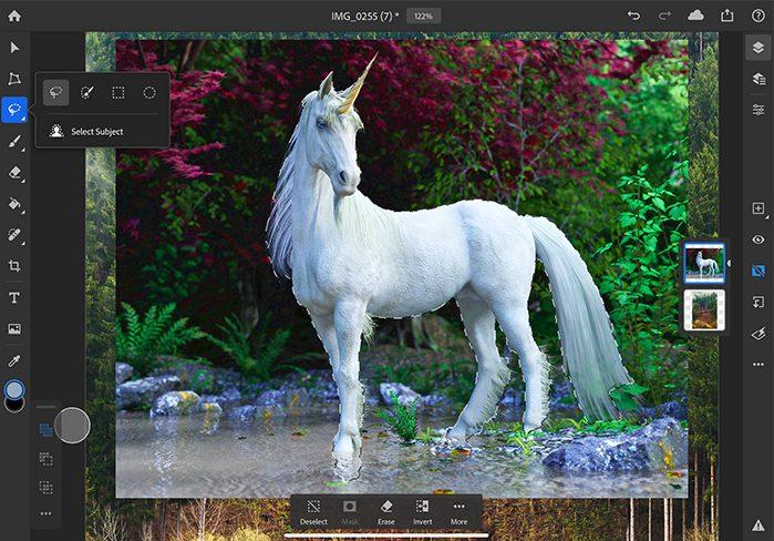 Select Subject Photoshop Photoshop sur iPad : les nouveautés suivront les mauvaises critiques