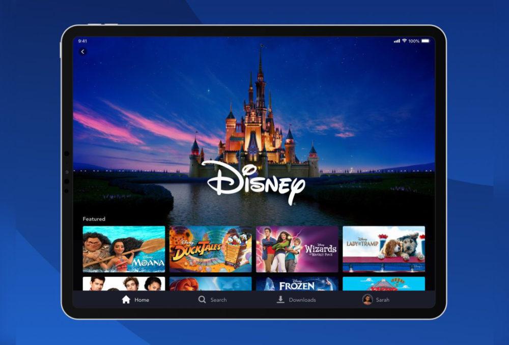 disney plus application 1000x679 Lapplication Disney+ est disponible sur iPhone, iPad, Apple TV (aux États Unis pour le moment)