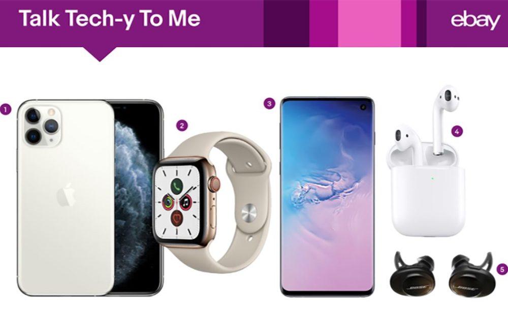 eBay iPhone 11 Pro AirPods 2 Tech iPhone 11 : le produit tech le plus recherché sur eBay