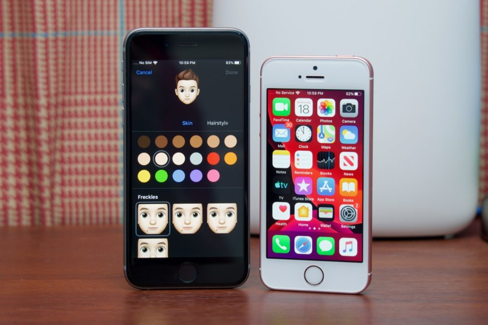 iOS 13 iPhone 6s iPhone SE 1000x667 iOS 13.2.2 est là : elle corrige le bug qui causait la fermeture des apps en fond de tâche