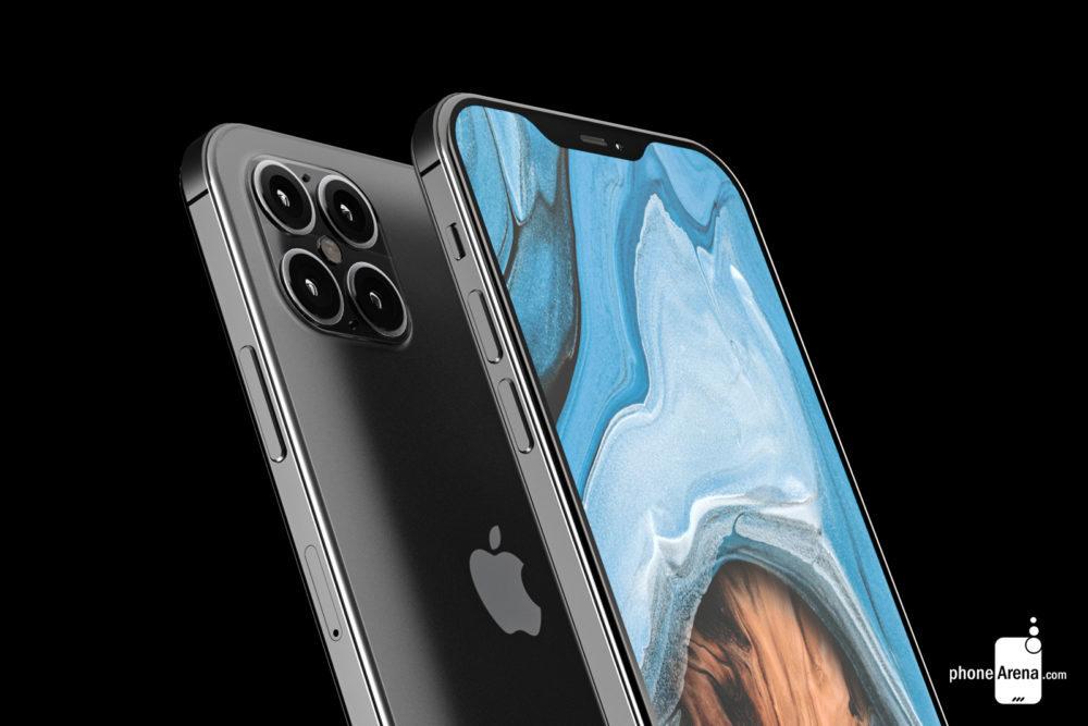 iPhone 12 rendus cameras 1 1000x667 Des rendus présentent liPhone 12 avec une plus petite encoche, 4 caméras et plus