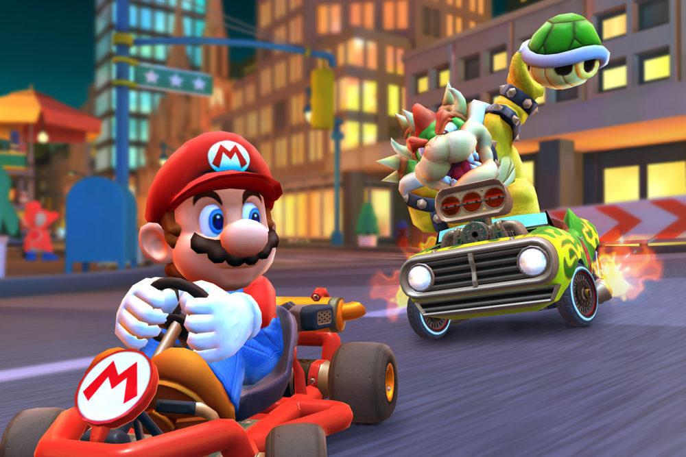 nintendo mario kart tour 1000x667 Mario Kart Tour : le mode multijoueur débarque en version bêta en décembre, toutefois…