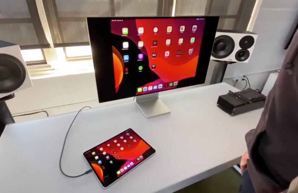iPad Pro Pro Display XDR Le Pro Display XDR dApple supporte liPad Pro et le MacBook 12 pouces