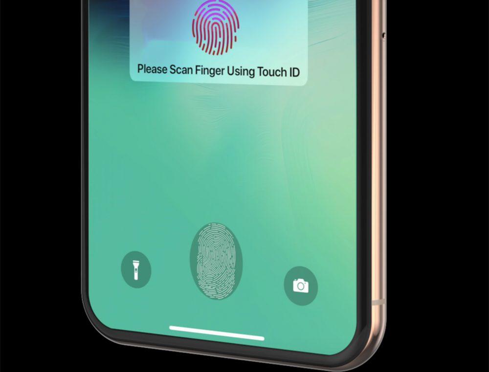 iphone 2020 touch id LiPhone 12 serait équipé de Touch ID sous lécran avec un capteur à ultrasons