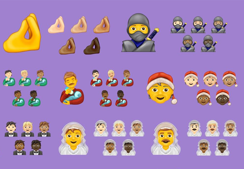 2020 emojipedia sample image collection 1 Voici 117 nouveaux Emojis qui arriveront sur iPhone, iPad, Mac... en 2020
