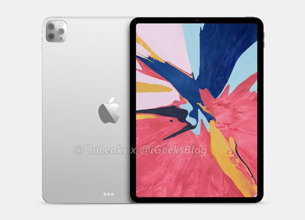 2020 iPad Pro Rendus 1 Les iPad Pro 5G verront le jour en automne 2020, selon Digitimes