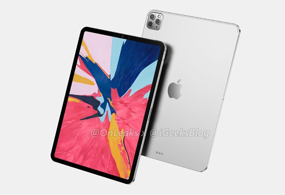 2020 iPad Pro Rendus Les nouveaux iPad Pro seraient disponibles en mars, mais la production rampe