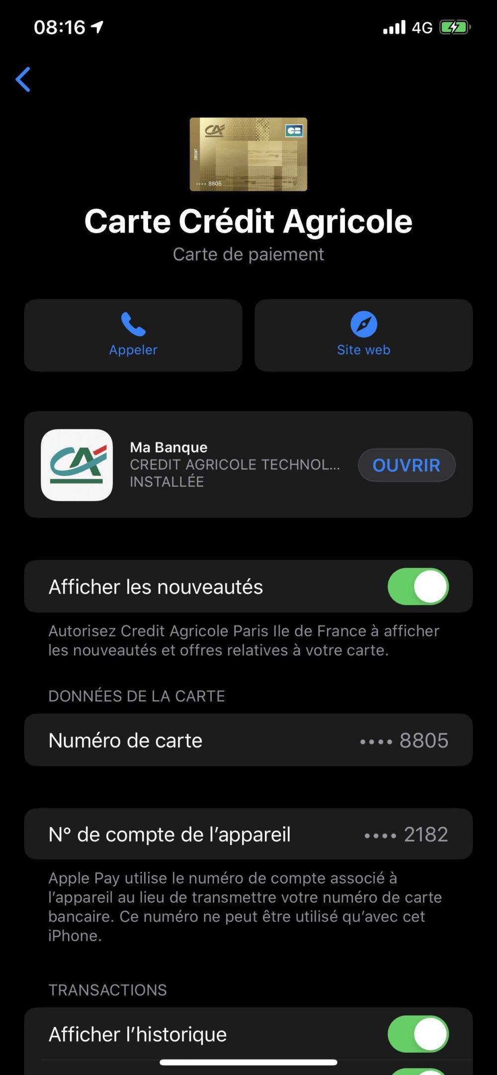 Apple Pay Credit Agricole Apple Pay est enfin disponible au Crédit Agricole