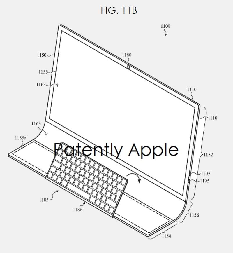 Brevet iMac Bloc de Verre 4 Brevet : Apple imagine un iMac en une seule plaque de verre incurvée