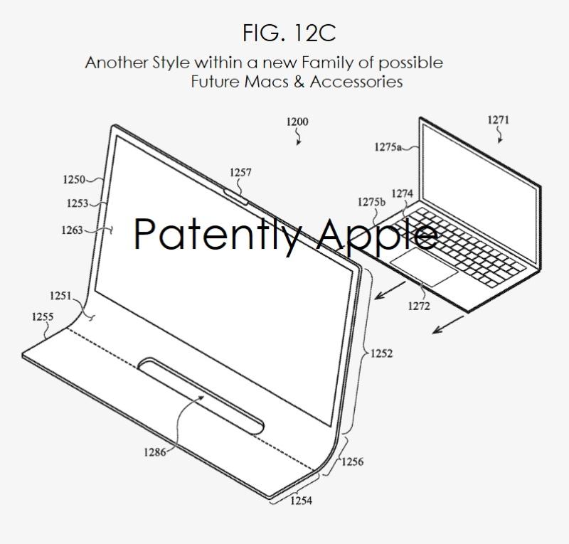Brevet iMac Bloc de Verre 5 Brevet : Apple imagine un iMac en une seule plaque de verre incurvée