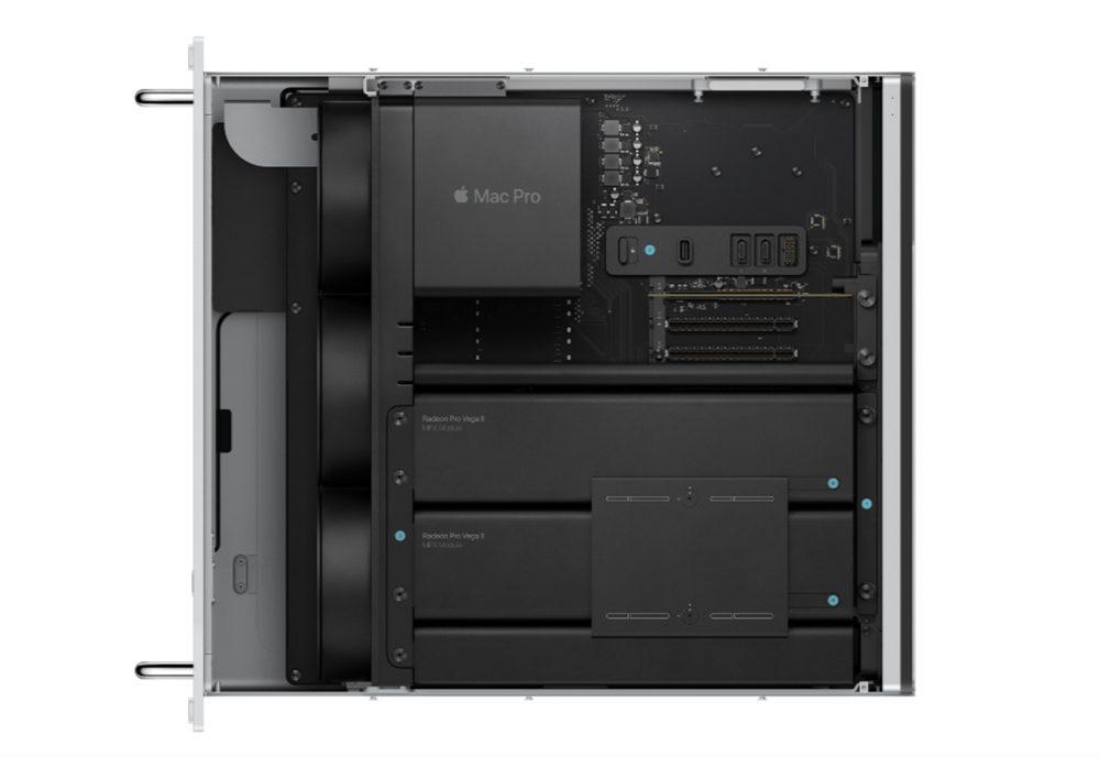 Mac Pro Version Rack La version rack du Mac Pro est disponible à lachat, il commence à partir de 7 199 euros