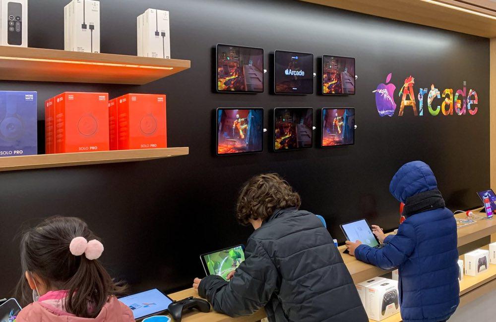 apple store arcade Les Apple Store revisités pour mieux accueillir Apple Arcade