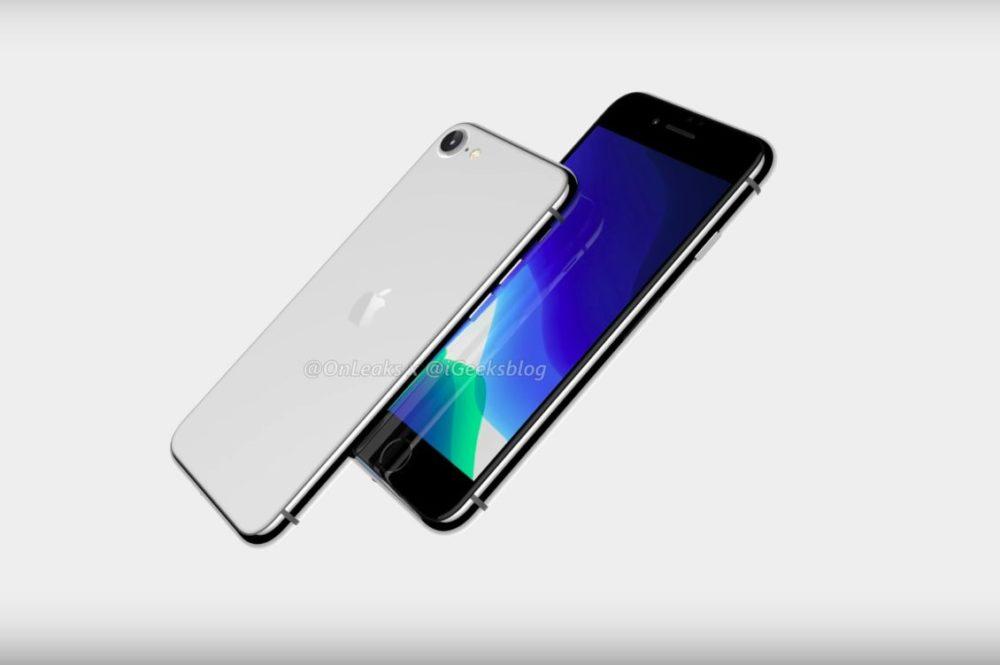iPhone SE 2 ou iPhone 9 Rendus 3D En dépit du coronavirus, liPhone SE 2 (iPhone 9) serait disponible au 1er semestre de 2020
