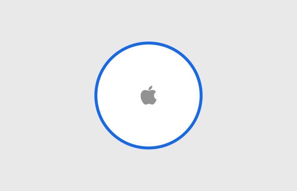 Apple AirTag LAirTag, le traqueur d'objets d'Apple, serait étanche et se rechargerait façon Apple Watch