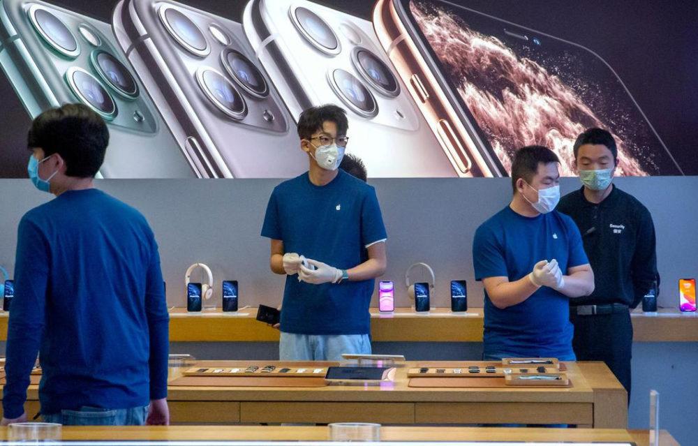 Coronavirus App Store Le coronavirus va empêcher à Apple de parvenir à ses prévisions pour le 2e trimestre 2020