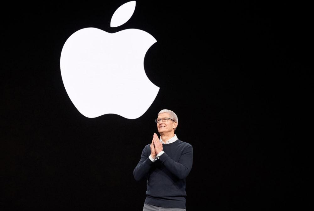 Keynote Apple Tim Cook Apple borne les voyages de ses employés vers la Corée du Sud et lItalie à cause du coronavirus