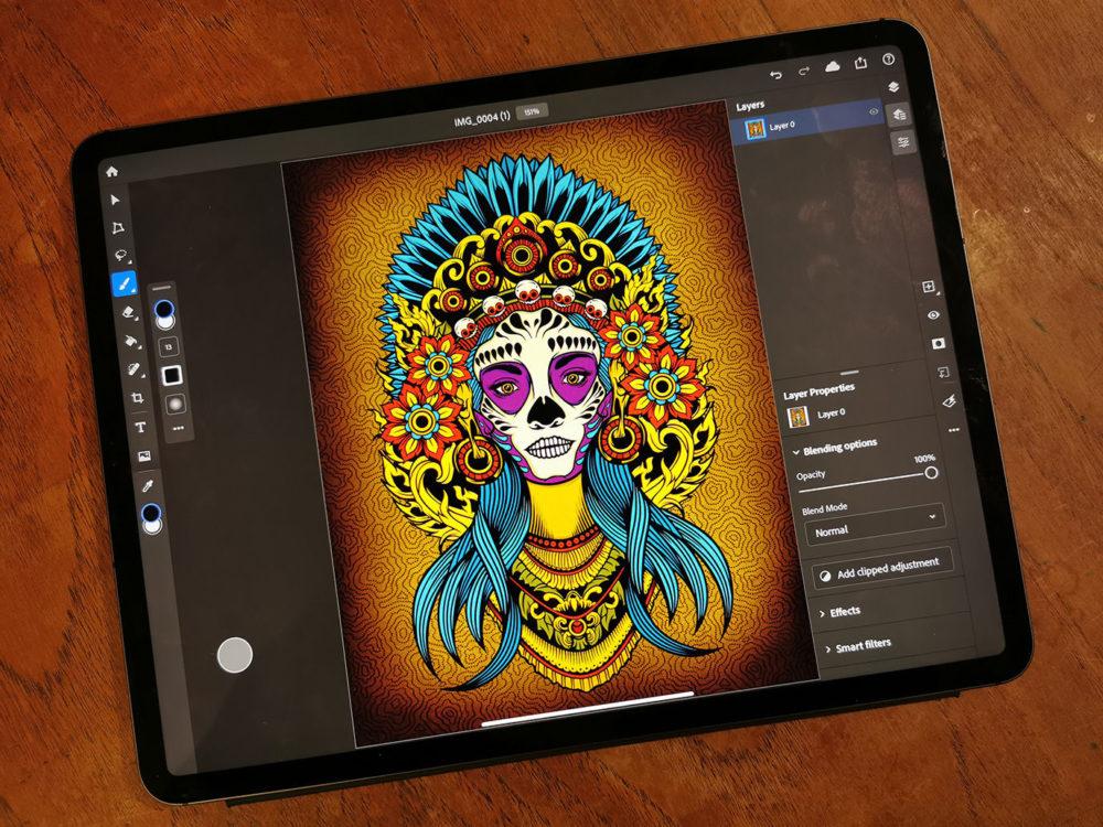 Photoshop et Fresco sur iOS : un abonnement regroupé à 10,99 euros par mois