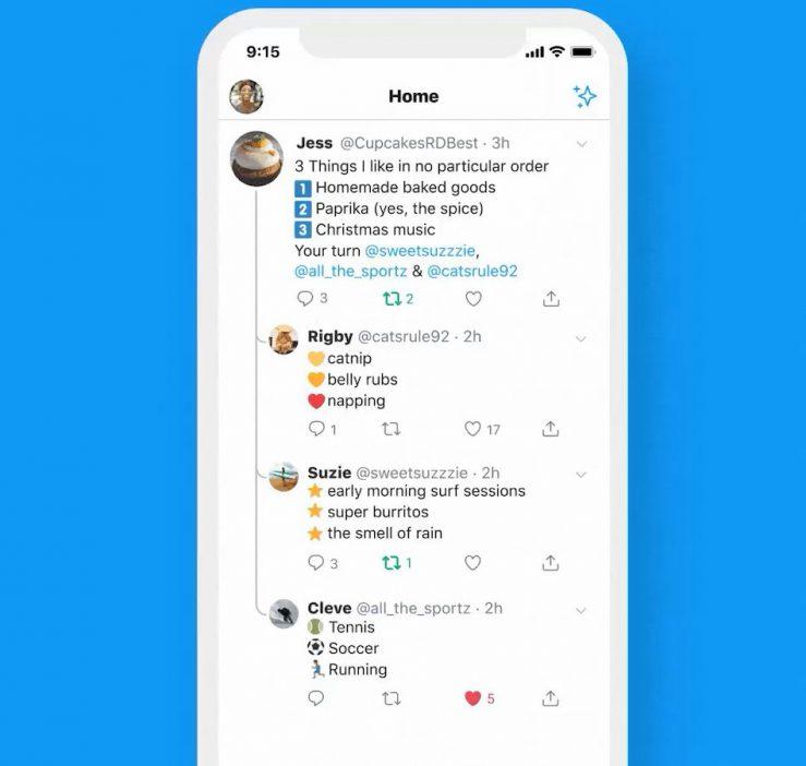Twitter iPhone iPad Nouveau Design Conversation Twitter sur iPhone propose une nouvelle façon de suivre les conversations