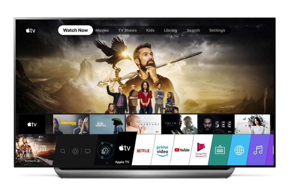 apple tv lg Les Smart TV LG possèdent maintenant l'app Apple TV