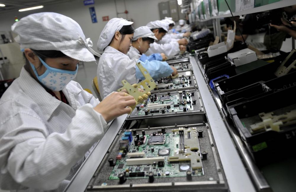 foxconn usine Les productions d'iPhone continuent de chuter à cause du coronavirus