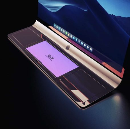 iMac incurve Concept 3D 2 LiMac incurvé dont décrivait le brevet dApple se dévoile en rendus 3D