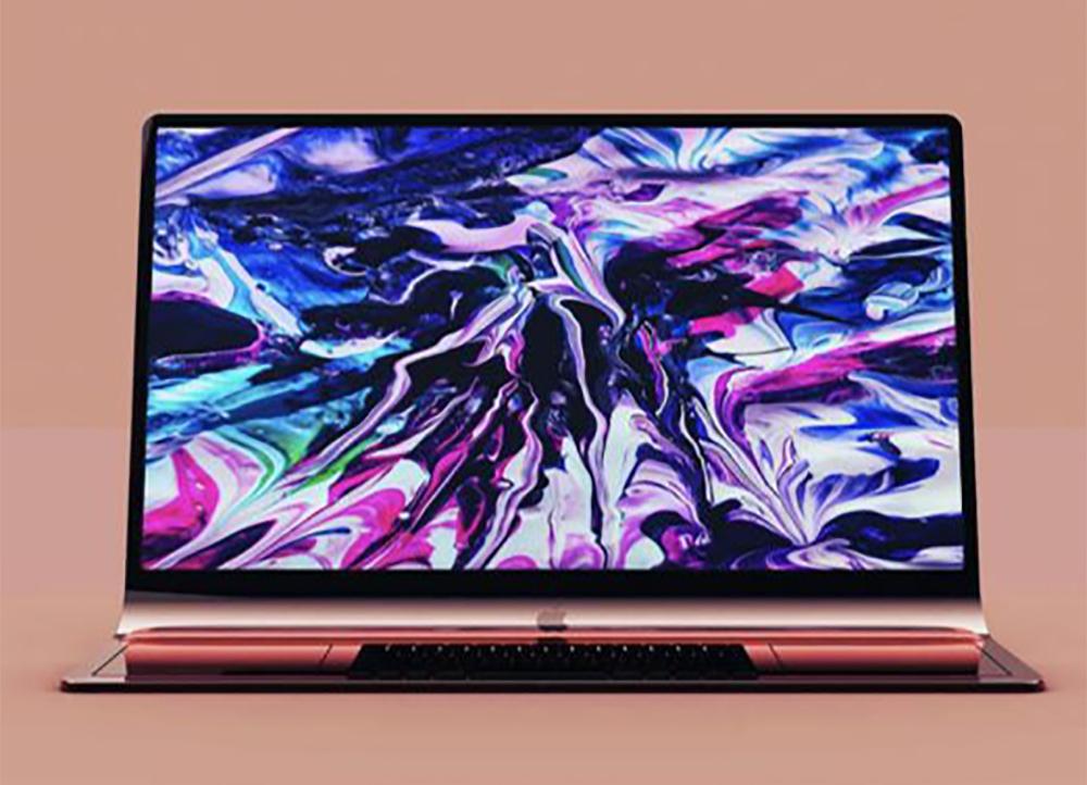 iMac incurve Concept 3D LiMac incurvé dont décrivait le brevet dApple se dévoile en rendus 3D